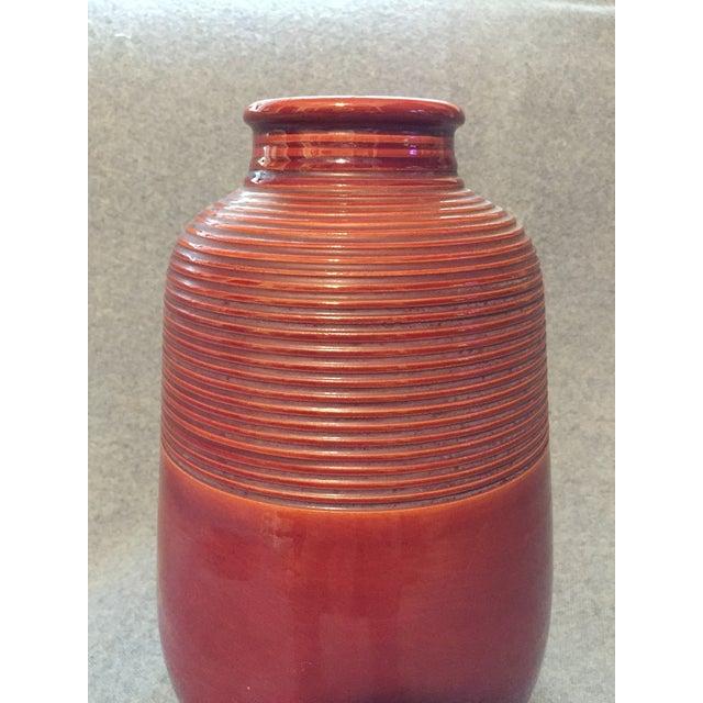 Clay Italian Mid-Century Modern Terra Cotta Vase For Sale - Image 7 of 12