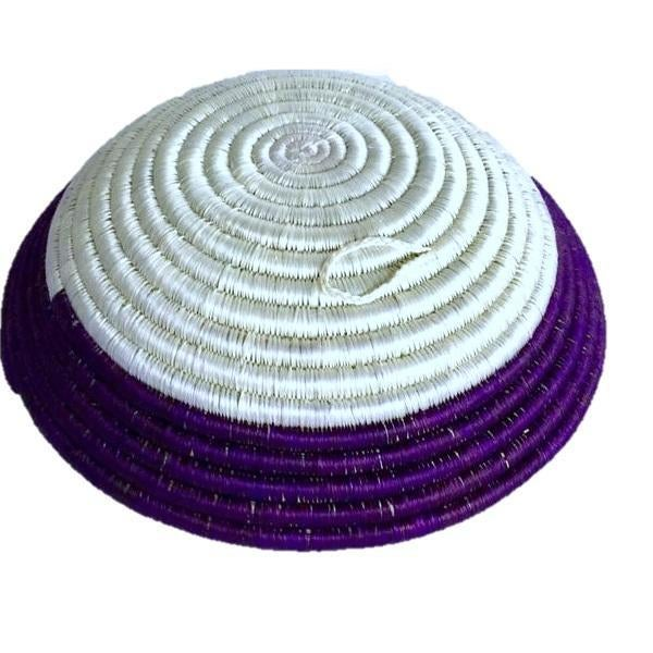 African Woven Basket - Image 2 of 5