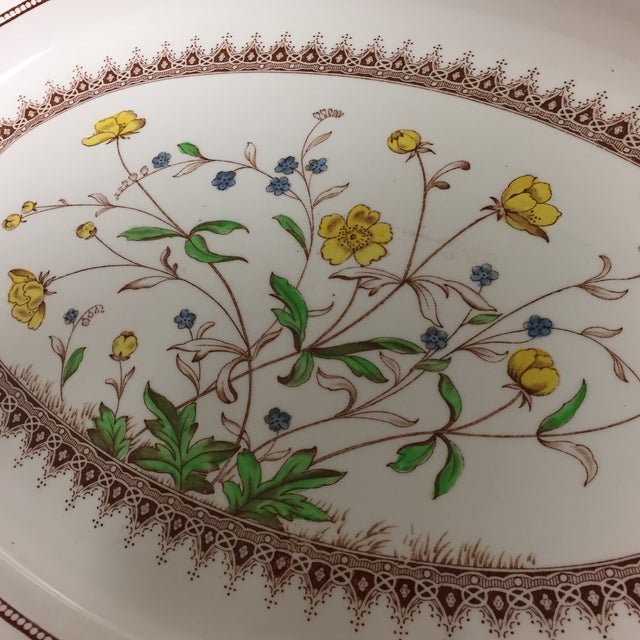Spode Spode Copeland Iconic Buttercup Large Oval Serving Platter For Sale - Image 4 of 8