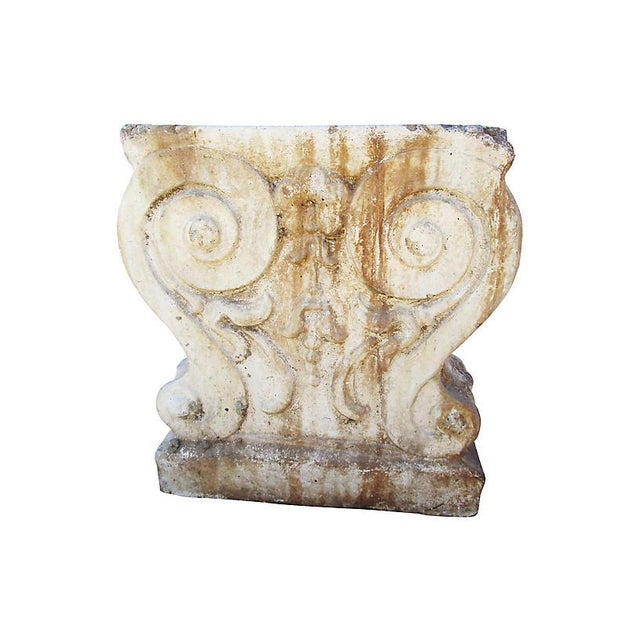 19th-C. French Garden Stone Fragment For Sale In Los Angeles - Image 6 of 6