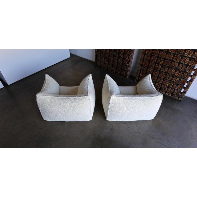 "Mario Bellini "" Le Bambole "" Lounge Chairs for B&b Italia, Circa 1985 - a Pair For Sale - Image 11 of 13"