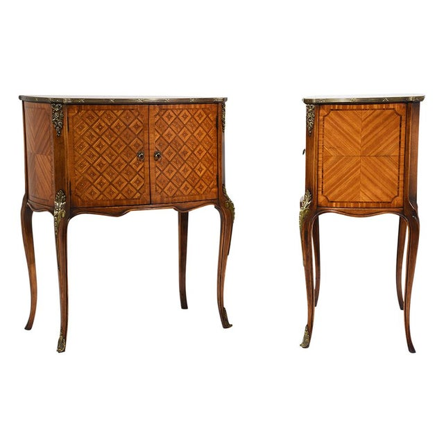 French Louis XVI-Style Commodes - A Pair - Image 2 of 10