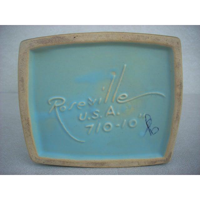 Roseville Silhouette Basket Vase - Image 4 of 4