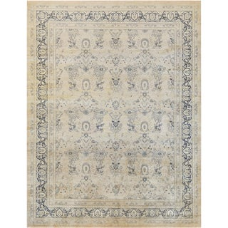 """Mansour Quality Handwoven Tabriz Rug - 8'3"""" X 10'4"""" For Sale"""