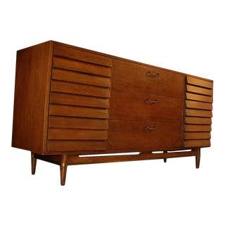 Mid-Century American of Martinsville Merton Gershun Credenza Dresser For Sale