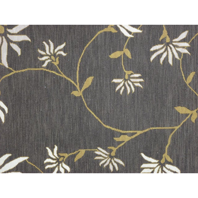 Soumak carpets are unique because the wefts are used to produce decorative patterns rather than as a structural element....