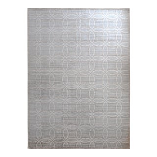 Contemporary Tibetan Rug - 9′ × 12'