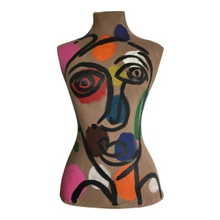 Abstract Peter Keil Original Painted Mannequin For Sale