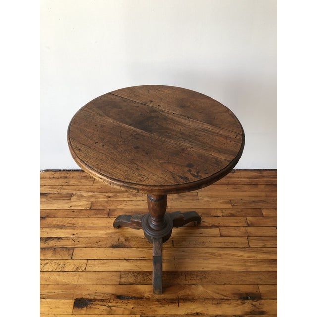 Early 20th Century French Country Oak Wine Table For Sale - Image 4 of 5
