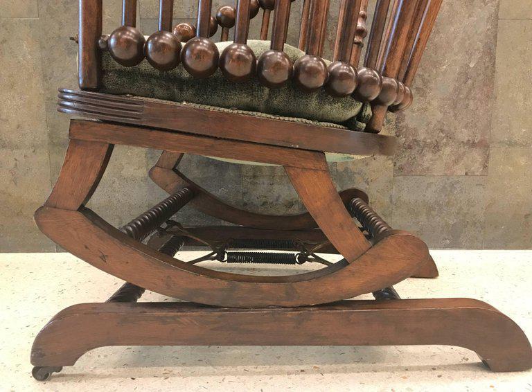Hunzinger Lollipop Platform Rocking Chair For Sale In New York   Image 6 Of  8