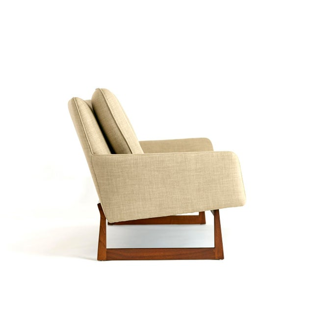 Tan Jens Risom, Pair of Sofas, Circa 1960's For Sale - Image 8 of 10