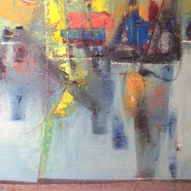 Stanley Bate Stanley Bate, Pas De Deux Painting, Circa 1960 For Sale - Image 4 of 7