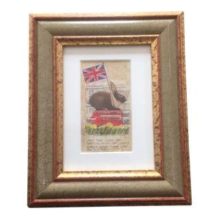 London Easter Rabbit Original Illustration For Sale
