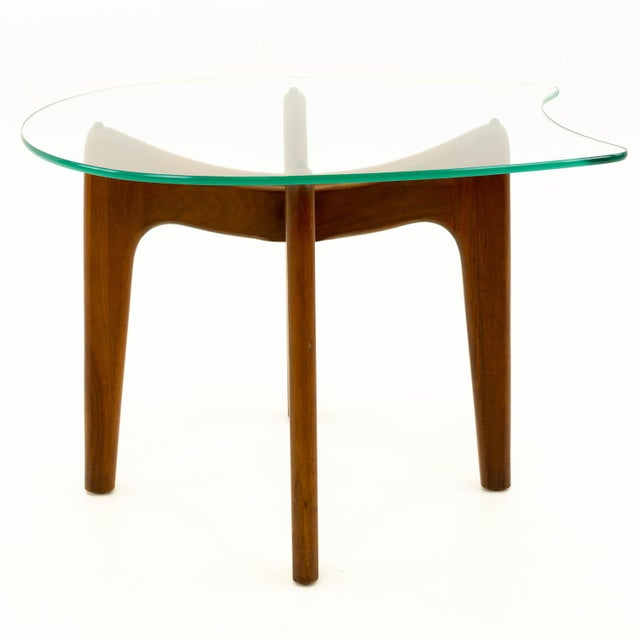 29233ffa561c Adrian Pearsall Mid Century Modern Adrian Pearsall Sculpted Walnut Side  Table For Sale - Image 4