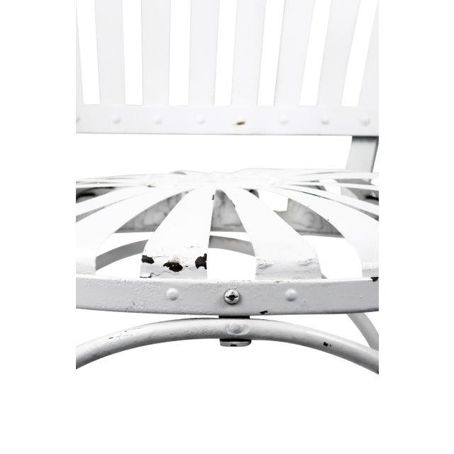 Francois Carre Vintage Fan Back Patio Armchair - Image 3 of 11