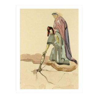 Salvador Dali Woodcut Hell 32, Treacherous to Their Homeland For Sale