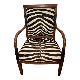 Napoleon Style Armchair by William Switzer For Sale