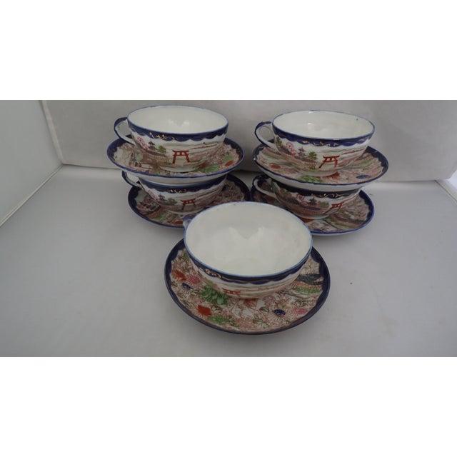 Antique Japanese Tea Set For Sale - Image 5 of 11