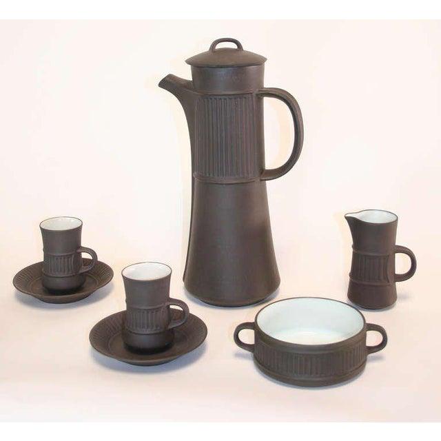 Mid-Century Modern Dansk Flamestone Coffee Set by Jens Quistgaard - Set of 16 For Sale - Image 3 of 5