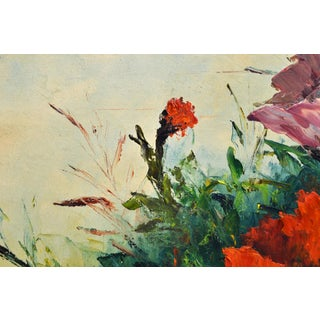 Jack Hammell Flowers Oil Painting Preview