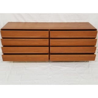 Danish Modern 8 Drawer Teak Dresser by Westnofa Preview