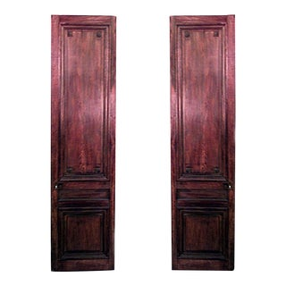 French Louis XVI Walnut Doors For Sale