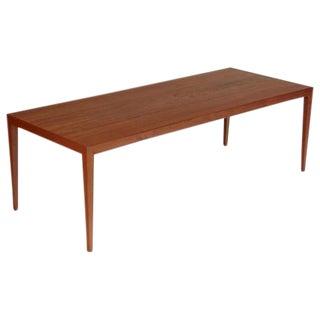 1960 Severin Hansen Jr Danish Teak Coffee Table