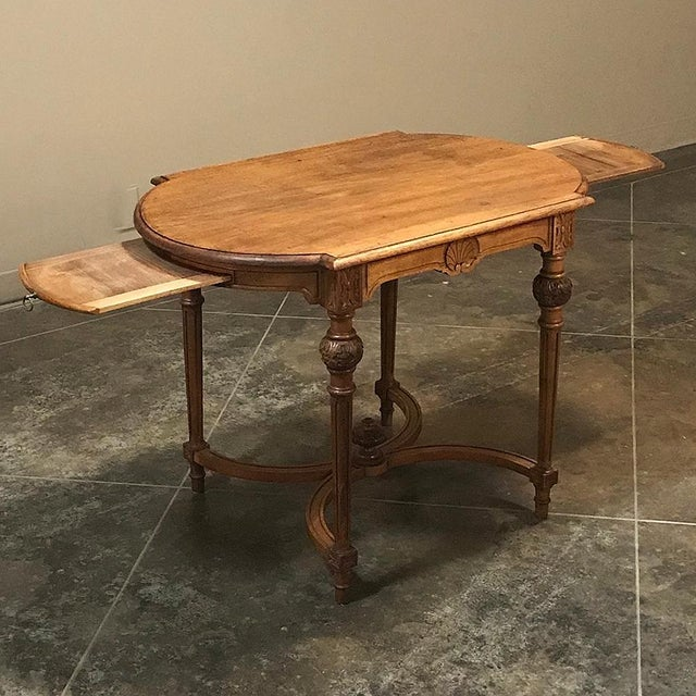 19th Century French Neoclassical End Table Ca. 1880 For Sale - Image 4 of 12