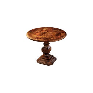Traditional Taracea Zola Lamp Table For Sale