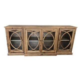 Four Door Kaleidoscope Cabinet For Sale