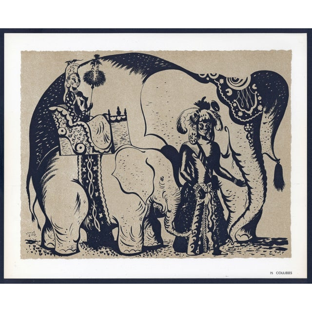 1944 Lithographs - Circus: # 52 & 75 - A Pair - Image 5 of 7