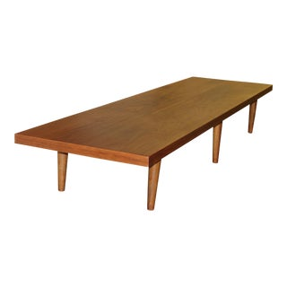 Mid-Century Modern Chabudai Japanese Dining Table