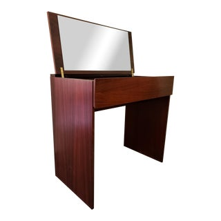 Mid-Century Modern Arne Wahl Iversen for Vinde Mobelfabrik Rosewood Vanity Table For Sale