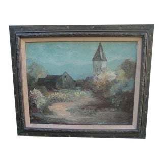 Rustic Village Landscape For Sale