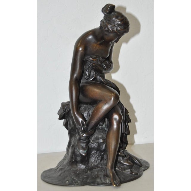 19th C. Bronze Ballerina For Sale - Image 4 of 5