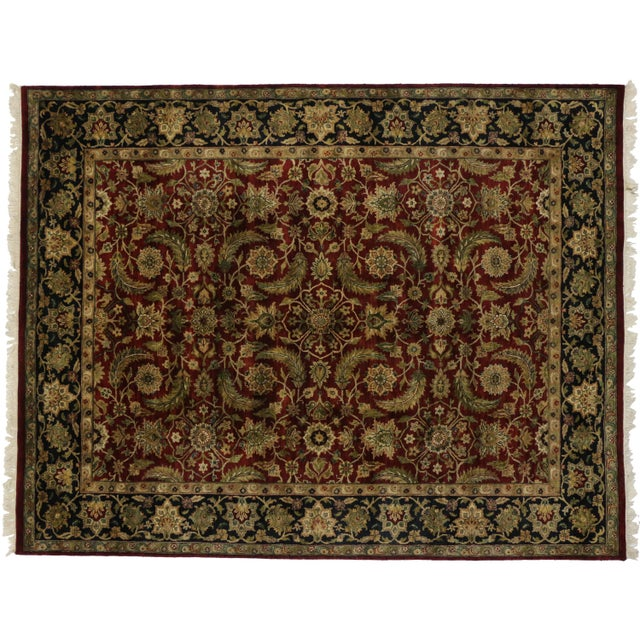 "Vintage Indian Rug - 9'1"" X 11'7"" - Image 1 of 3"