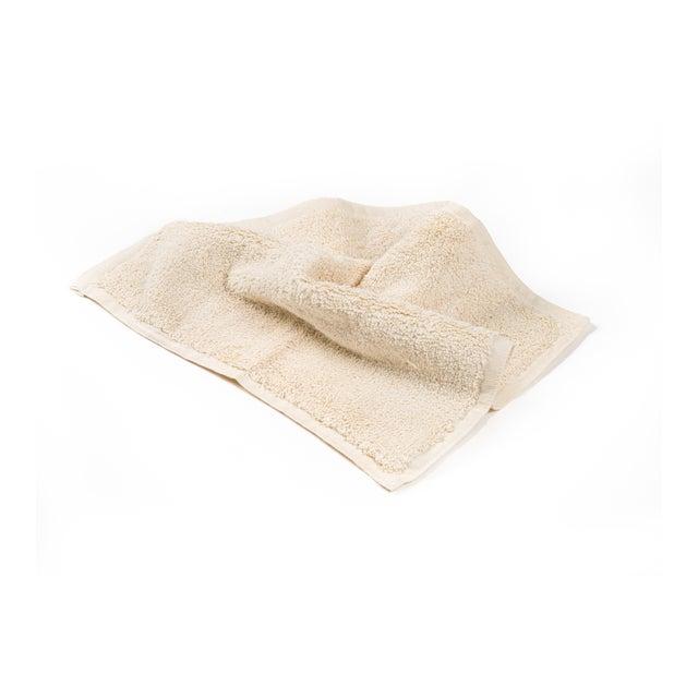 2020s Plush & Bare Handmade Organic Cotton Face Cloth in Ecru For Sale - Image 5 of 5