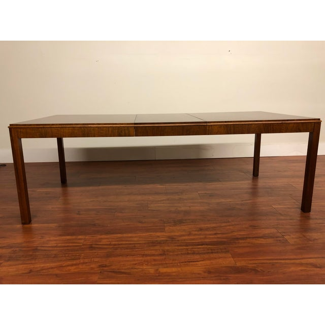 Wood Maurice Villency Expandable Dining Table For Sale - Image 7 of 13