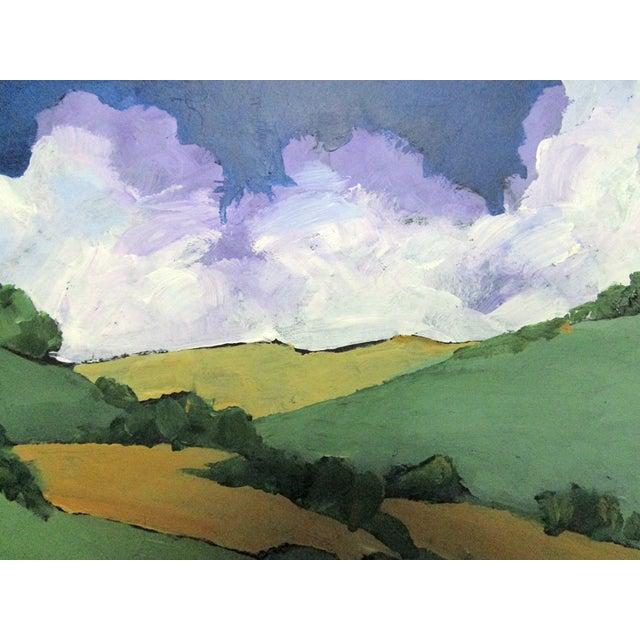 Malibu Hills Impressionist California Plein Air Landscape For Sale In Los Angeles - Image 6 of 7