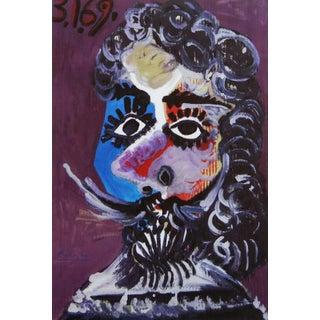 1970s Pablo Picasso Malborough Print, Galleria d'Arte Roma, Numbered For Sale