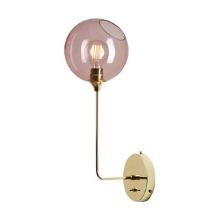 Ballroom The Wall Sconce - Pink For Sale