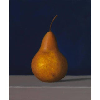 "David Harrison ""Bosc Pear"" Oil Painting For Sale"