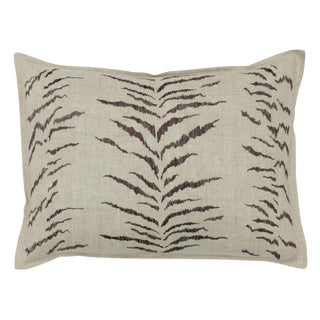 Tiger Stripe Pattern Pillow For Sale