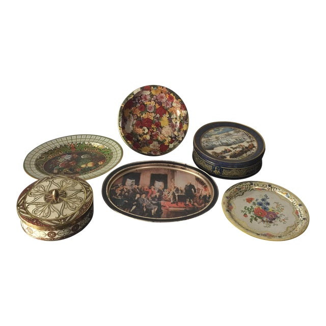 English Daher Tin Collection- Set of 6 - Image 1 of 4