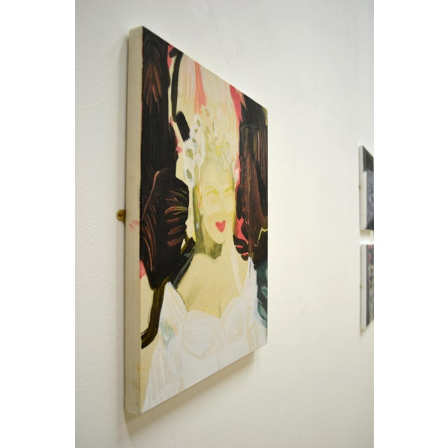 Figurative 'Sitting Pretty' Painting For Sale - Image 3 of 5