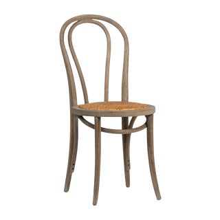 Rattan Seat Dining Chair For Sale