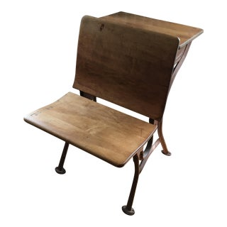 Vintage School Desk & Bench Chair