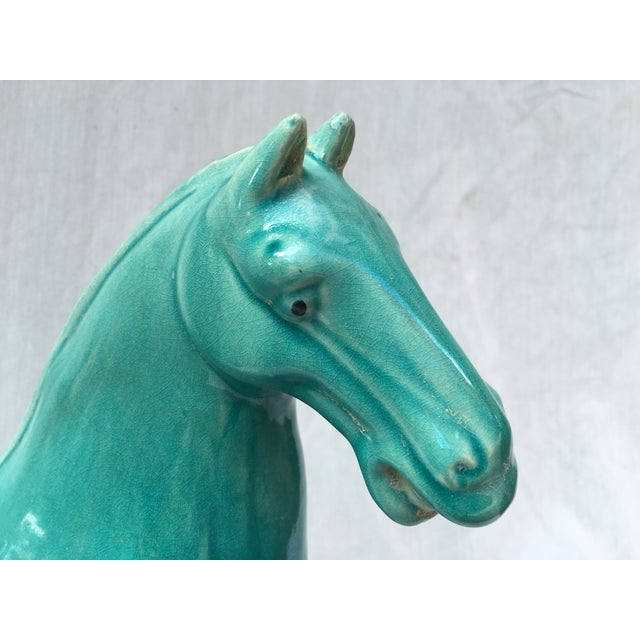 Chinese Tang Style Turquoise Horse - Image 4 of 6