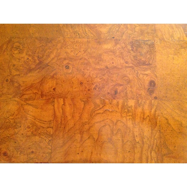 Wood French-Style Burled Wood Credenza For Sale - Image 7 of 10