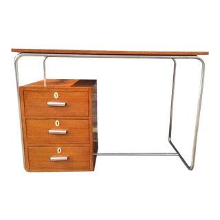 Walnut desk from Austria For Sale